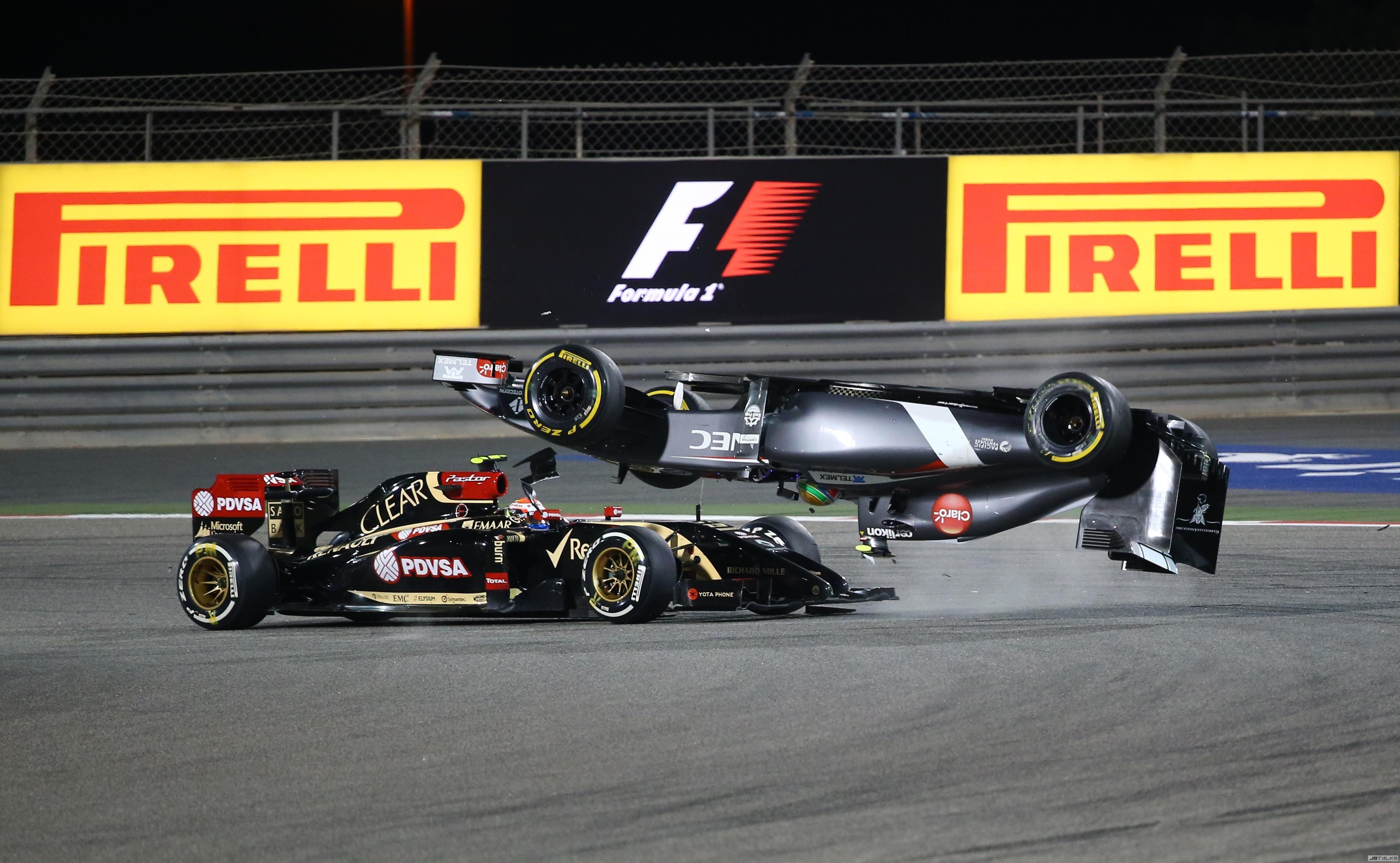 所幸在这次事故当中,我们完全可以看见f1车体结构的安全性,对车手