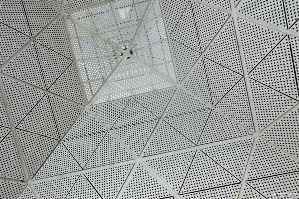 Ceiling of Airport
