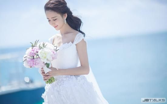 Baby婚紗太高級 明星新娘誰美得讓你心碎
