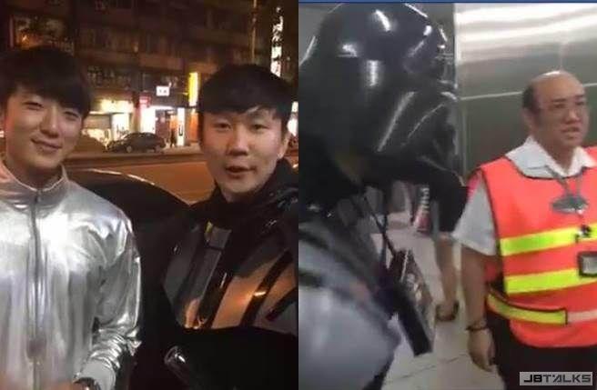 林俊傑戴面具搭北捷 遭吼:先生拿下來!