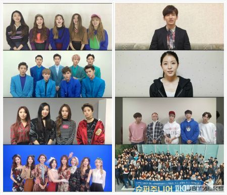 SJ歡度十周年!SM娛樂旗下藝人、Staff獻上視頻祝福