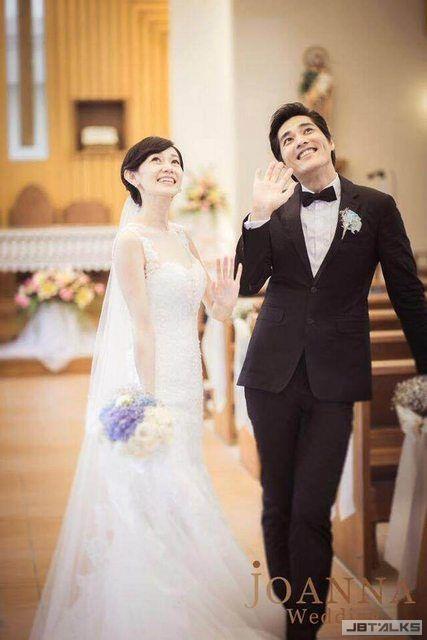 超美!藍正龍公布教堂婚照 幸福自帶天使光