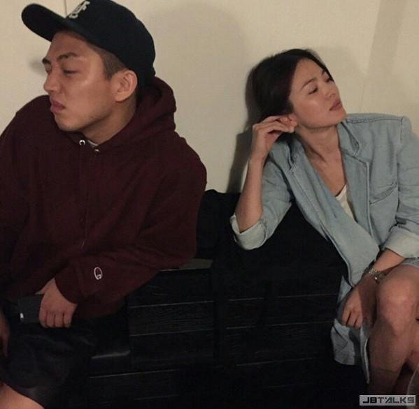 宋慧喬Ig洩密 喬妹又戀愛了?!