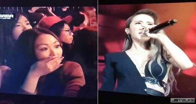 蔡依林MAMA完美演唱 台下看到嘴開開