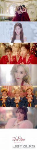 少女時代TaeTiSeo聖誕專輯《Dear Santa》排行榜上名列前茅