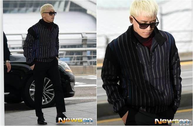 偷偷來! BIGBANG勝利現身機場 秘密來台