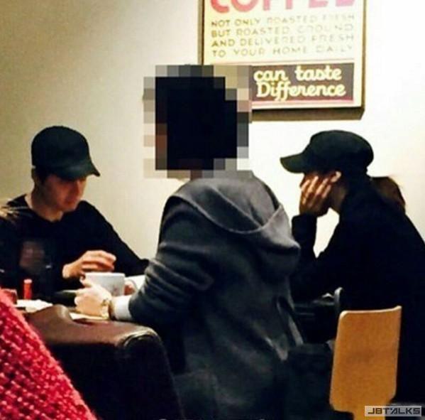 「小金泰希」智妍與李東健熱戀中 餐廳約會甜蜜放閃