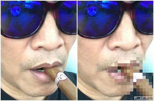 吳宗憲曬自拍 網友加工惡搞後變色情圖片
