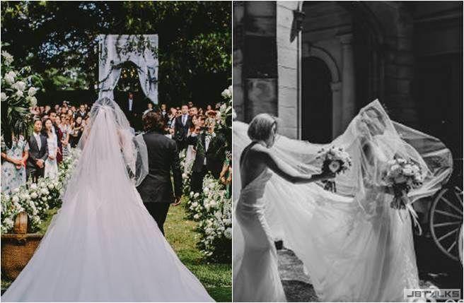 王陽明愛意大噴發 半夜狂曬絕美婚禮照