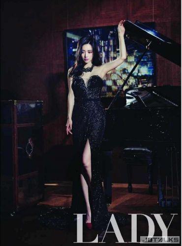 洪秀兒封面寫真奢華魅惑 主演中國電影《旁觀者》