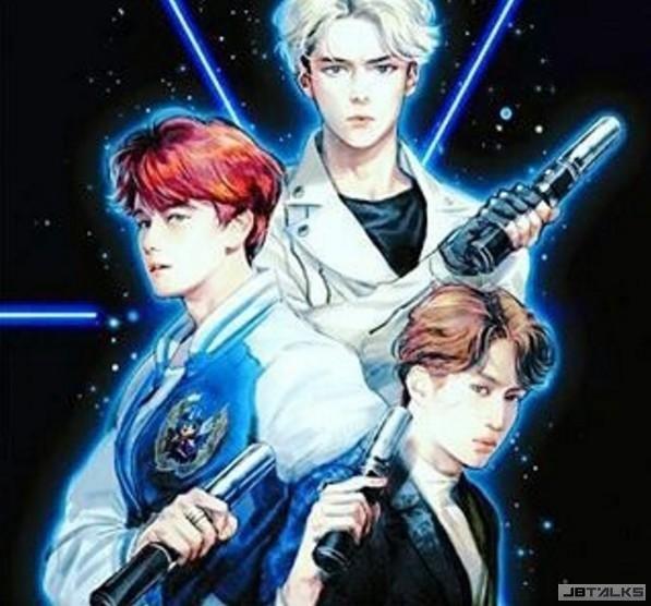 EXO超殺! 搶搭《星際大戰》熱潮 登美國告示牌榜單