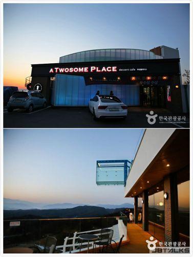 跟著EXO的腳步:春川九峰山咖啡店
