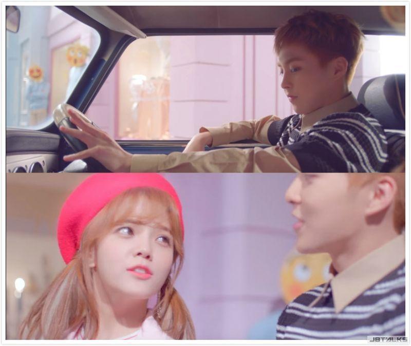 Xiumin&Jimin《Call You Bae》MV完整版甜蜜放送
