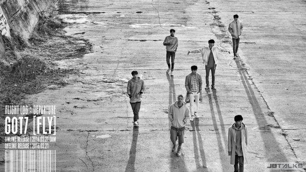 GOT7新專輯《FLIGHT LOG : DEPARTURE》宣傳照公開