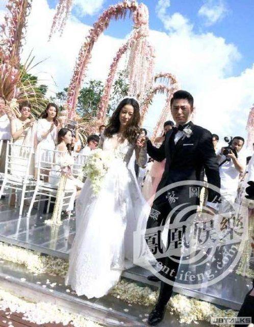 霍心婚禮誓詞:你在外面累了,我在家等你!