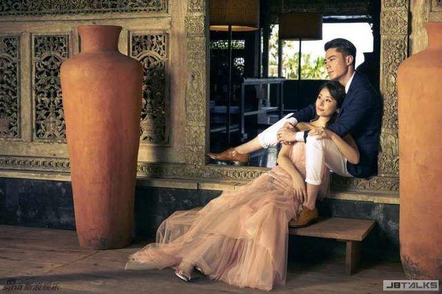 霍建華林心如婚紗照美爆眾星 4招遮肚好神祕