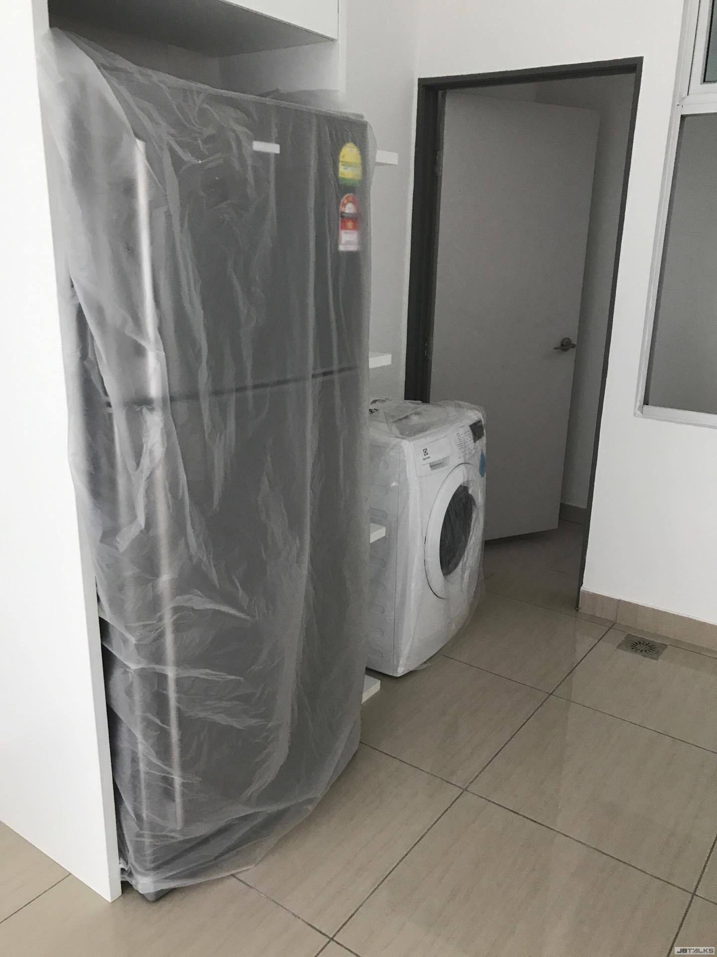 提供洗衣机和冰箱